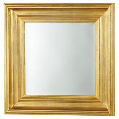 Burwell Mirror Gold 27 x 27
