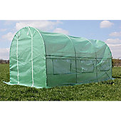 Palm Springs 4.5M X 2M Polytunnel Greenhouse-25Mm Super Strong Anti-Rust Frame
