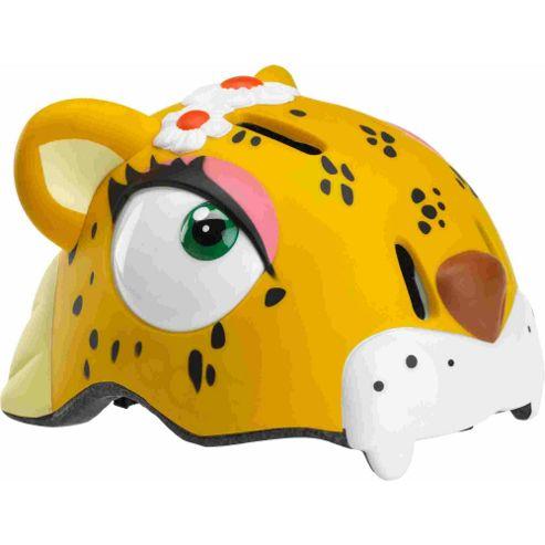 Crazy Stuff Childrens Helmet: Leopard S/M.