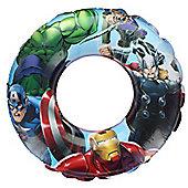 Marvel Avengers Iron Man Captain America Inflatable Swimming Ring Pool Float 3+