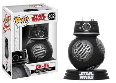 Funko POP Bobble Star Wars E8 TLJ BB-9E Figure