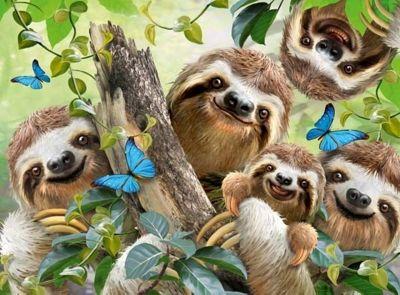 Sloth Selfie - 500pc Puzzle