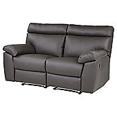 Carlton Medium 2.5 Seater Recliner Sofa, Chocolate Leather-effect