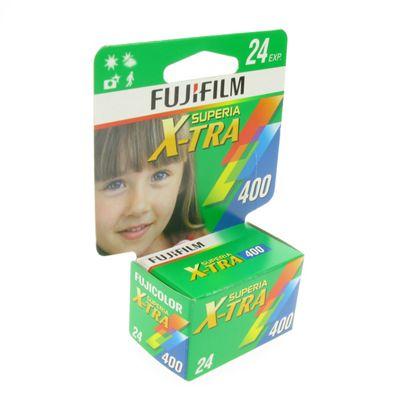 Fujicolor Film - Superia X-tra 400 24 Exposures 135 Hang Tab