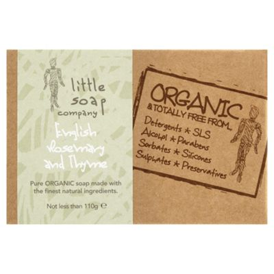Little Soap Company: English Rosemary And Thyme Bar Soap