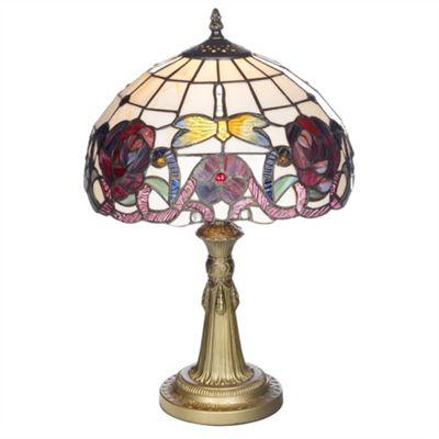 Kliving Medium Wycombe Tiffany Table Lamp