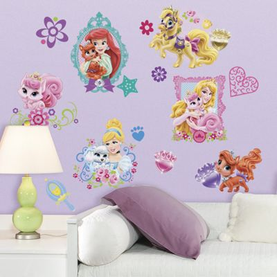 Disney Princess Palace Pets Wall Stickers