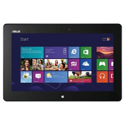 Asus VivoTab ME400 Tablet, Intel Atom Dual-Core, 64GB, Windows 8 - White