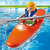 Playmobil Summer Fun Kid with Kayak