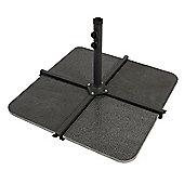Nova - 48kg Granite Cantilever Parasol Base Slabs - Pack of 4