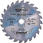 Trend - Saw blade crosscut 215mm x 48 teeth x 30mm - CC/215X48X30