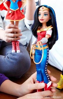 DC Super Hero Girls Fashion Core Action Doll - Wonder Woman