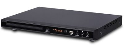 Denver DVH-1244 Upscaling Multi Region DVD Player 1080p With USB