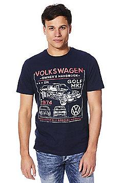 Volkswagen Golf MK1 Manual T-Shirt - Navy