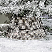 Kaemingk - Willow Christmas Tree Ring - 57cm Diameter - Grey Wash