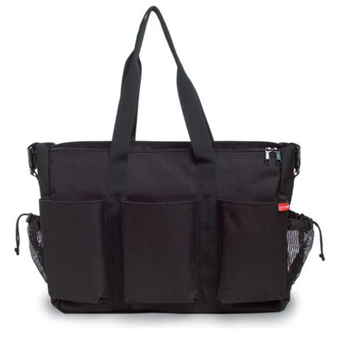 Skip Hop Duo Double Changing Bag Black