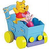 Winnie The Pooh - Pooh Push 'n' Play Buddy Buggy - Tomy