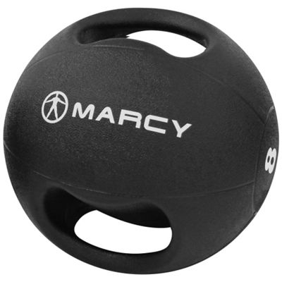 Marcy Double Handle Medicine Ball Rubber - 8kg