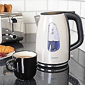 Igenix IG730C 1.7 Litre Jug Kettle - Metallic Cream