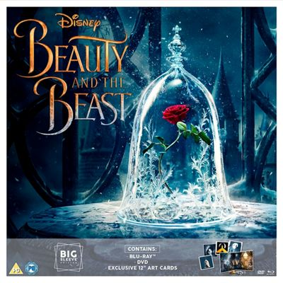 Beauty & The Beast (Live Action) Big Sleeve (Exclusive) BLU-RAY 2disc