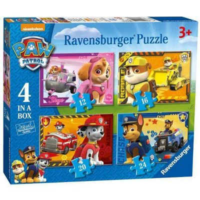 Paw Patrol - 4 in 1 Puzzle