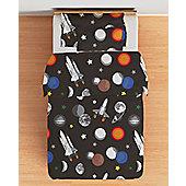 Galaxy Single Duvet Cover Set with Pillowcase