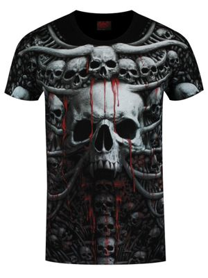 Spiral Death Ribs All Over Print Men's T-Shirt
