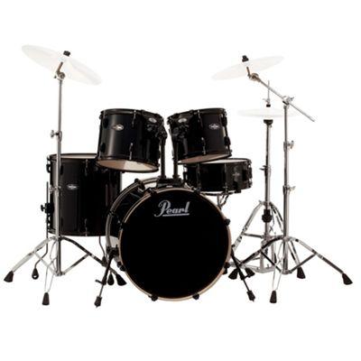Pearl Vision VB 5 Piece Drum Kit in Black