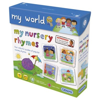 My Nursery Rhymes 4-In-1 Jigsaw Puzzles