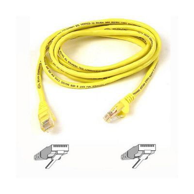 Belkin Components Patch Cable CAT5e Assembled UTP (Yellow) 1m