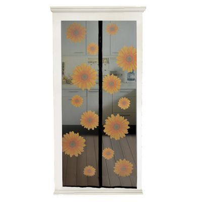 Magnetic Snap-shut Door screen - Sunflowers  sc 1 st  Tesco : shut door - pezcame.com