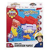 CraZSand Fireman Sam Sand Rescue Set