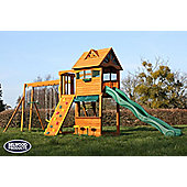 Selwood Arlington Climbing Frame - Slide, Swings & Monkey Bars