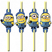 Despicable Me Minions Drinking Straws