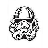 Star Wars Storm Trooper Extra Large Wall Sticker
