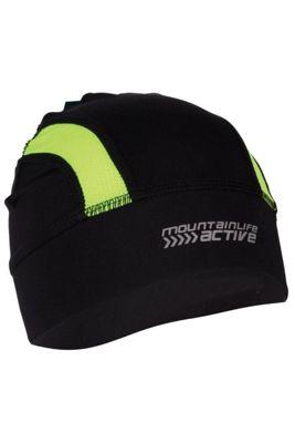 Adrenaline Iso-Viz Stretch Lightweight Sport Cycling Bike Running Beanie Hat