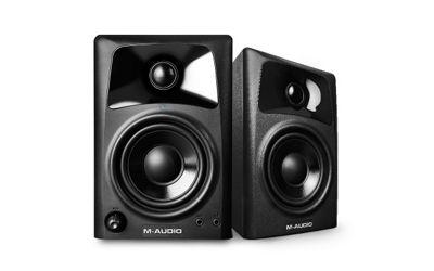 M-Audio AV32 Compact Desktop Studio Monitor Speakers