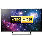 """Sony KD49XD8077SU 49"""" Android 4K SMART TV - Silver"""