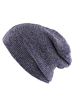 Heritage Heather Purple Beanie - Purple