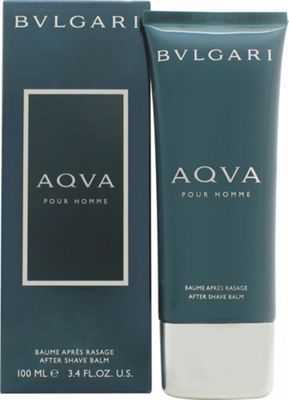 Bvlgari Aqva Pour Homme Aftershave Balm 100ml For Men