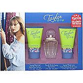 Taylor Swift Taylor Gift Set 30ml EDP + 50ml Shower Gel + 50ml Body Lotion + Free Celebrity Ringtone For Women
