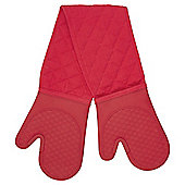 Red Silicone Double Oven Glove- New