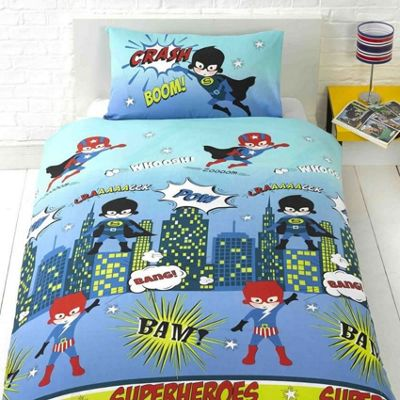 Superhero Toddler Bedding