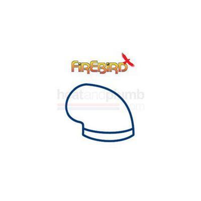 Firebird 90 Degree Flue Bend 44/58 (150mm diameter)