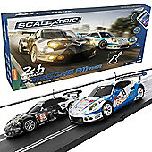 SCALEXTRIC Set C1359 ARC Air 24h Le Mans Set - Porsche 911 RSR