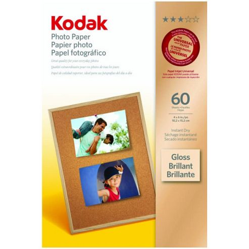 Kodak Photo Paper 6 x 4-inch Bronze