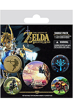 The Legend of Zelda Breath Of The Wild The Climb Badge Pack - Multi