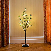 Artificial Images - 120cm Pine Tree with Cones & 36 LED Lights