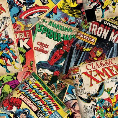 Marvel Avengers Cover Story Wallpaper