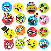 Funny Face Foam Stickers Creative Set of Foam Shapes for Children to Decorate and Personalise Arts & Crafts (Pack of 120)